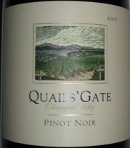 Quails Gate Pinot Noir 2007
