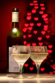 Valentines and wine