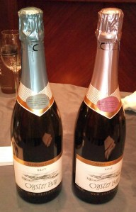 Oyster Bay Brut and Rose sparkling wines