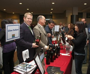 Arts Club California Wine Fair Ballroom Tasting
