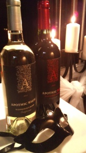 Apothic White and Red wines