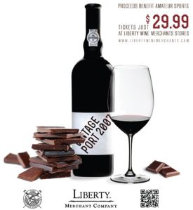Liberty Port and Chocolates
