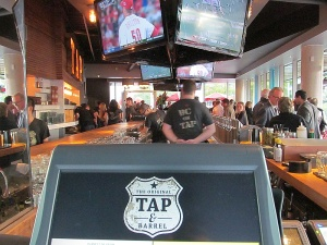 Tap and Barrel main floor