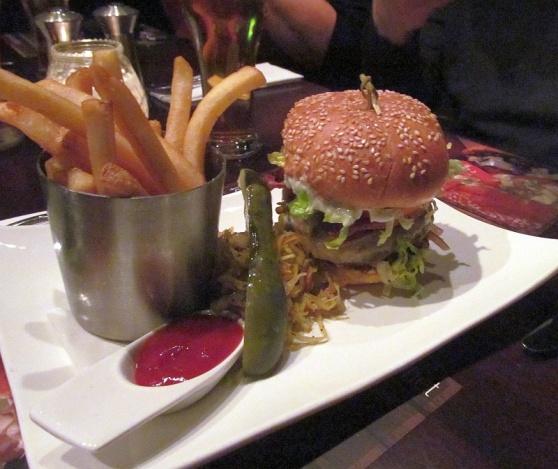 Whet's beef burger