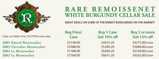 Remoissenet White Burgundy