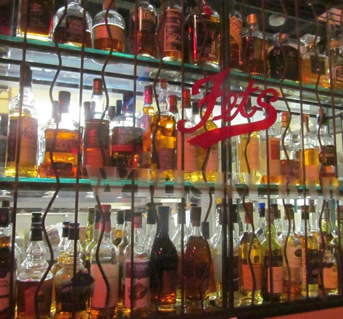Fets Bar and Grill whiskys
