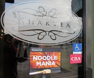 Shaktea Noodle Mania starting point
