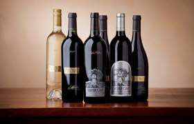 Silver Oak and Twomey Cellars wines