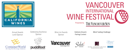 Vancouver International Wine Festival and California Wines