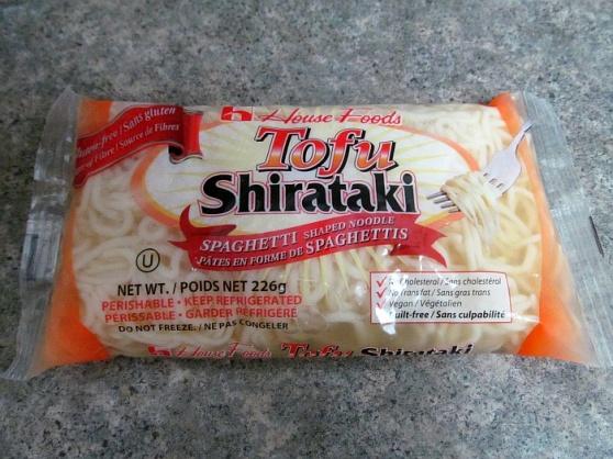 Tofu Shirataki spaghetti