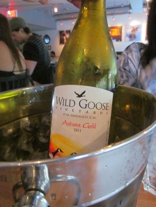 Wild Goose Vineyards Autumn Gold 2011
