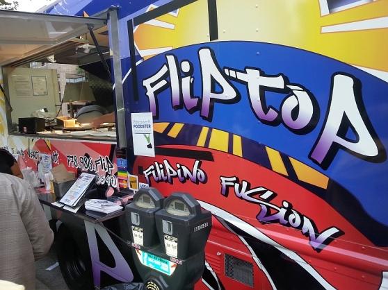 Flip Top Filipino fusion food truck