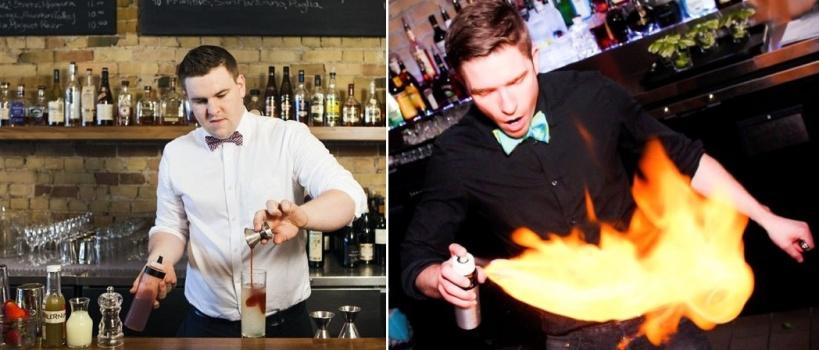 Shane Mulvany and Simon Hooper