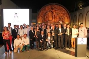The Trophy award winners