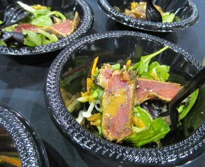 Seared tuna salad at Taste Washington