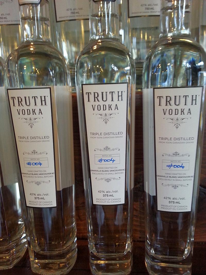 Truth Vodka from Liberty Distillery