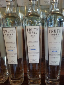 Truth Vodka from Liberty Distillery