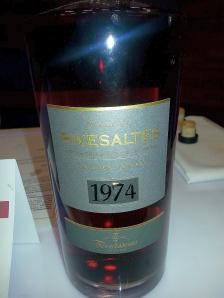 Les Vignobles de Constance du Terrassous Rivesaltes Ambre Terrassous heritage 1974