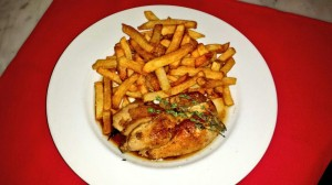 Cornish Hen & frites