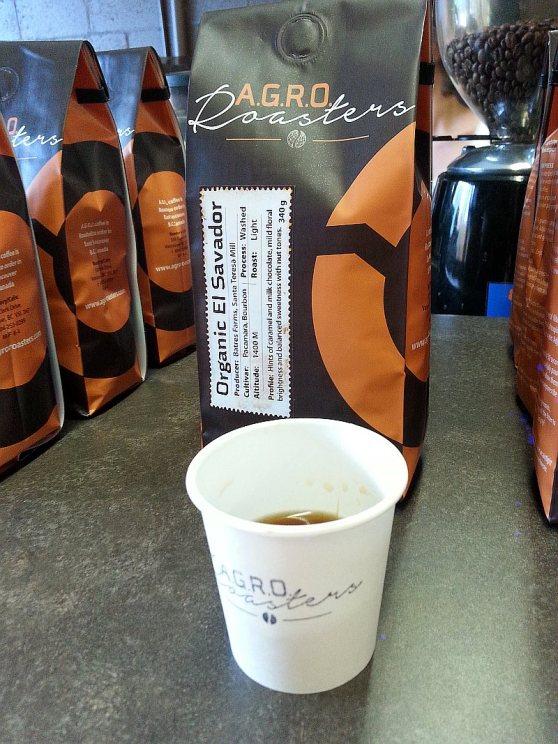 AGRO Roasters Organic El Salvador coffee
