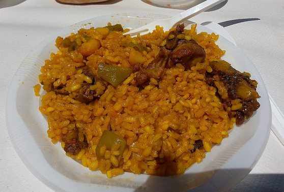Paella - enroute to my stomach