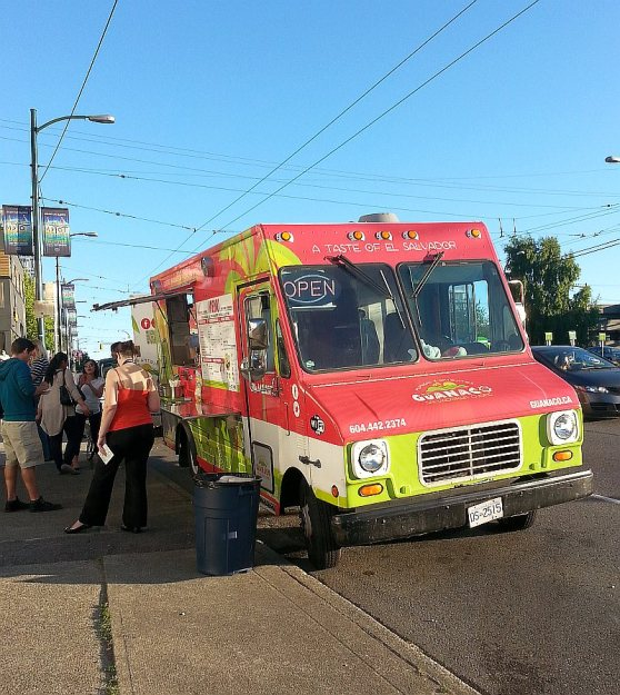 Stepping up to Guanaco Food Truck