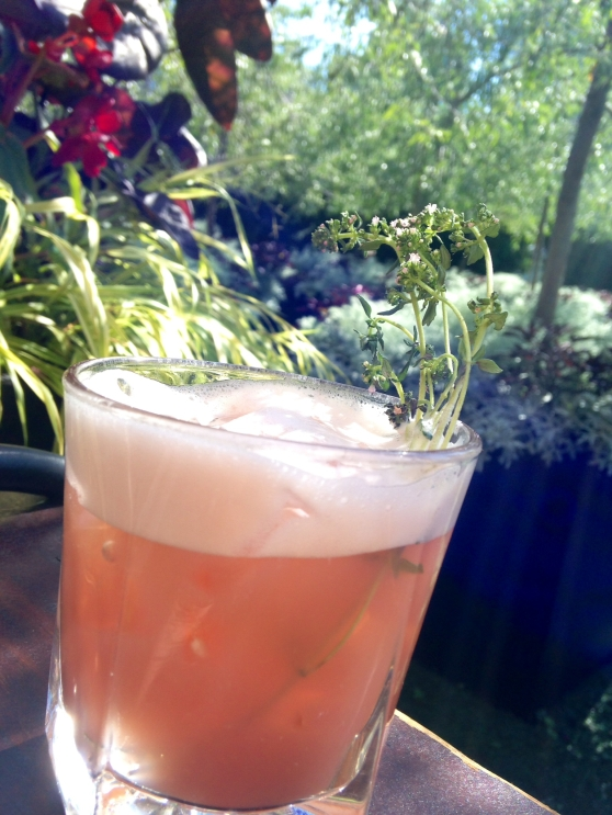 Wild Thyme cocktail