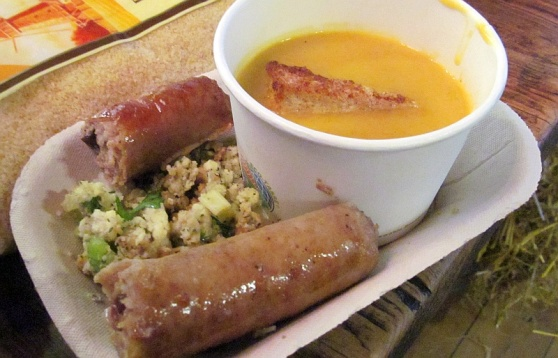 Jacksons turkey cranberry sausage and pumpkin ginger soup