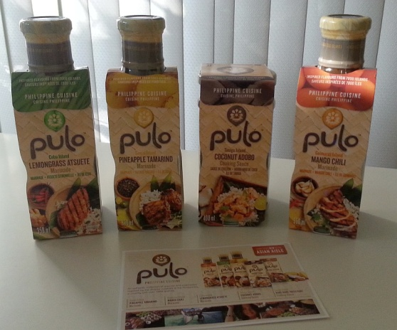 Pulo Philippine Cuisine range of sauces