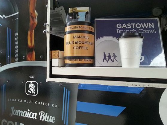 Jamaican Blue Cold Brew truck