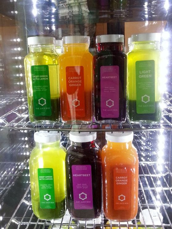 The Juice Box cold pressed juices