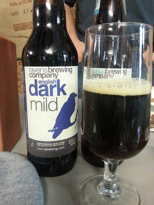 Ravens Brewing Company English Dark Mild beer
