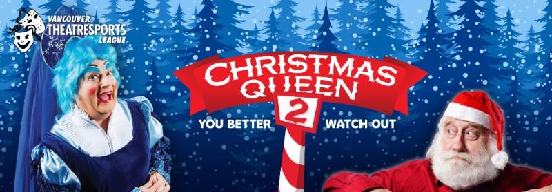 Vancouver TheatreSports Christmas Queen 2