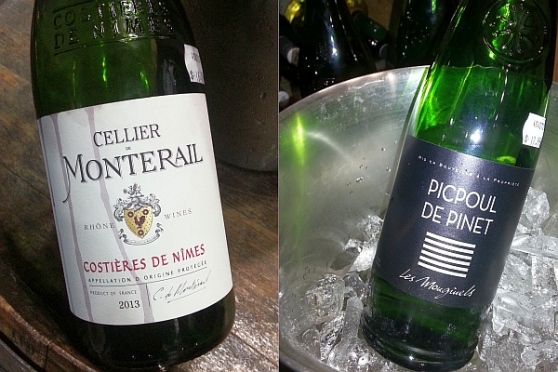 Liberty Wine Merchants Cellier de Monterail GSM and Les Mougiuels Picpoul de Pinet