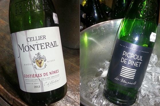Liberty Wine Merchants Cellier de Monterail GSM and Les Mougiuels Picpoul de Pinet