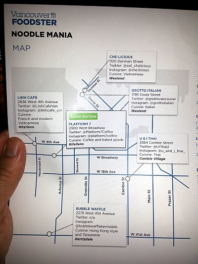 Noodle Mania map
