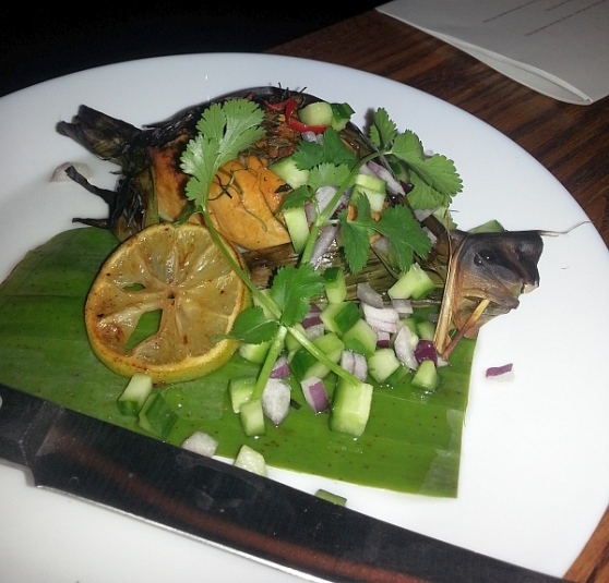 Thai Confusion - Curry Fish in Banana Leaf