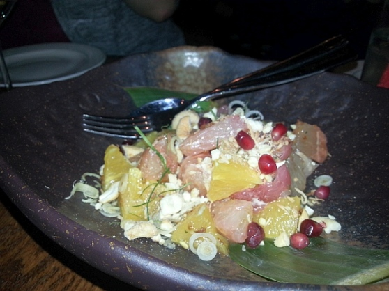 Thai Confusion - Three Citrus Salad