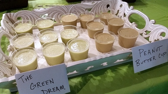 Living Produce Aisle - Green Dream and Peanut Butter Cup Smoothies