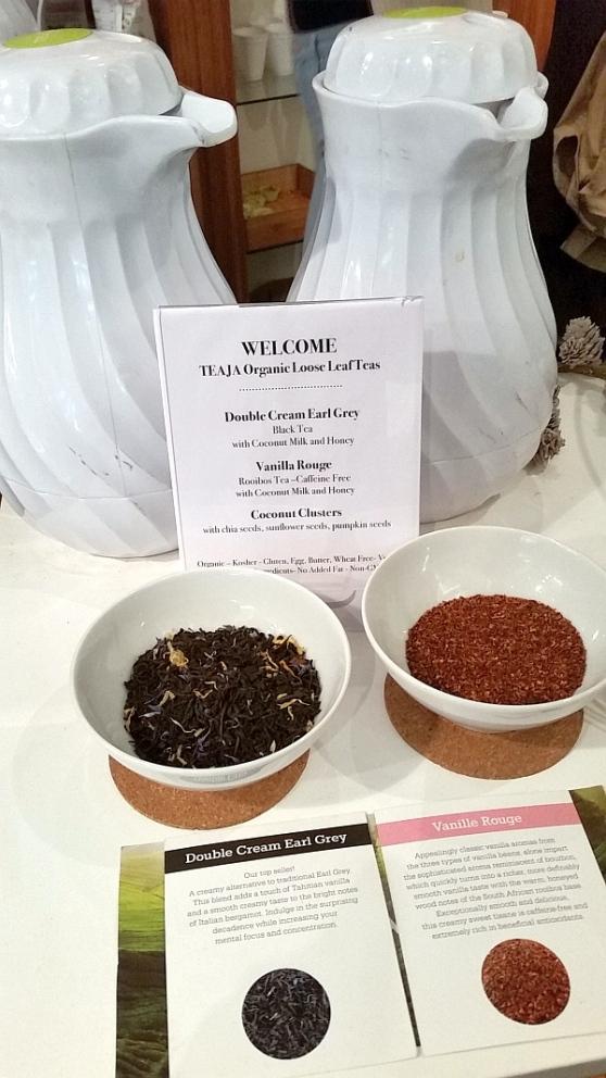 Teaja Organic Teas - Double Cream Earl Grey and Vanille Rouge teas