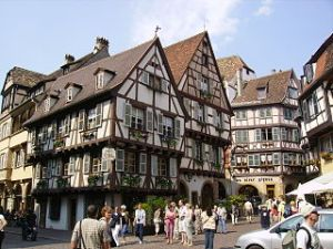 Colmar in Alsace (Image courtesy Wikicommons Tizianok)