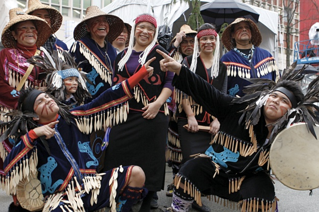Indigenous Cultural Festival in Victoria (Image courtesy Indigenous Tourism BC)
